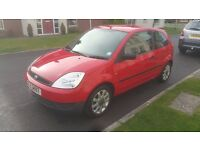 2004 FIESTA 1.25 FINESSE, EXCELLENT CONDITION FOR THE AGE AND MILES! JUST SERVICED! (Not Vauxhall)
