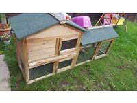 Guniea pig or rabbit hutch