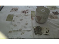 Teddy bear duvet cover and lampshade