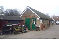 Rustic, unique, retail unit to let on well established Craft Centre in Essex.