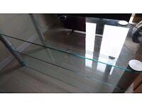 Glass AV unit