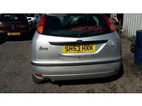 ford focus 1.6 petrol 10 months mot
