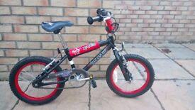 "Boys 16"" Raleigh BMX bike. Great condition. £30"