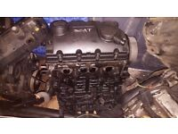 2006 SEAT ALHUMBRA TURBO DIESEL BARE ENGINE 2.0 TDI + COLLECTION 7 DAYS TIL LATE