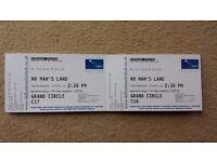 2x tickets - No Man's Land · Ian McKellen and Patrick Stewart · December 14th (London)