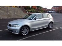 £2600 ono 2005 BMW 1 SERIES 1.6 116 SE 5DR SILVER, MOT DUE IN JUNE, GREAT ALLOYS, AUX, RUNS SMOOTHLY