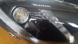 Maserati granturismo head lights