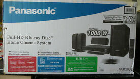 Panasonic scbt100 home cinema