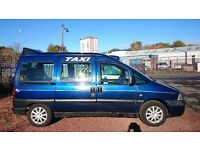Euro7 taxi single shifted engine 2 year old new tyres battery starter 3k miles since inspection