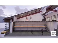LARGE WORKSHOP SPACES (PHASE 2): OPENING SPRING 2021: OXGATE HOUSE, BRENT CROSS, NW2 7HU