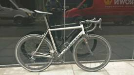 Litespeed T2 titanium large frame road bike. Dura Ace