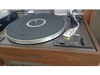 Turntable + receiver