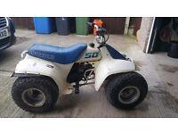 Suzuki Lt 50 White