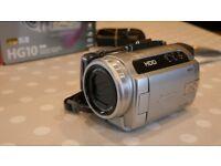 CANON HG10 HDD FULL HD CAMCORDER/CAMERA