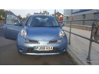 Immaculate 2008 Automatic*Nissan Micra Acenta+ (80)*1.2L Petrol*31000 miles*5drs*MOT till March 2017
