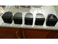 Bose lifestyle cube speakers x 5