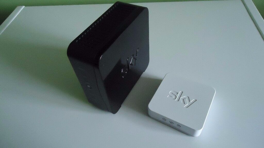 Sky Router and Booster Box