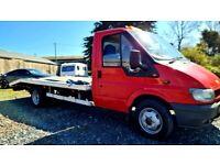 2003 Ford Transit LWB 2.4 TDCI recovery truck car transporter