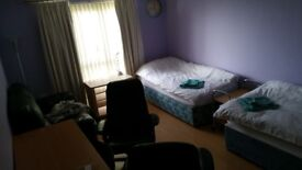 Large and very bright double bedroom near Napier and Heriot Watt Universities