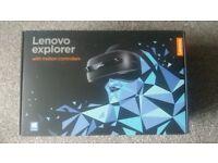 Lenovo explorer VR headset