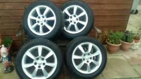 Jaguar xtype alloys&tyres