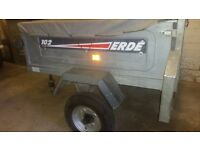 ERDE 102 TRAILER IN GREAT USED CONDITION NEW WHEEL BEARINGS READY TO USE £170 NO OFFERS