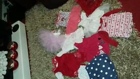 Baby girl dress bundle newborn to 3 mnth