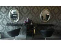 Nail bar/hairdressing section to rent
