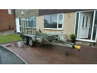 Iffor Williams plant trailer