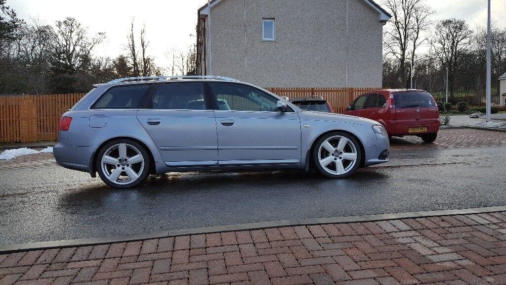 Audi A4 2006 19 Tdi S Lineestate Mot 0618 In Peebles Scottish
