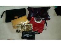 Ladies handbags, clothes & shoes bundle