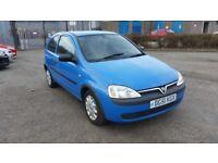 2001 (51 reg) Vauxhall Corsa 1.7 Di 16v Club 3dr Hatchback FOR SALE £495 SOLD WITH 12 MONTHS MOT