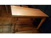 3 solid wooden tables in amazing condition
