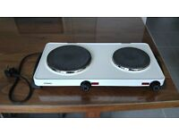 Double ring table top electric hob - EN1
