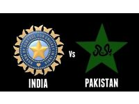 4 x GOLD India vs Pakistan ICC Cricket tickets