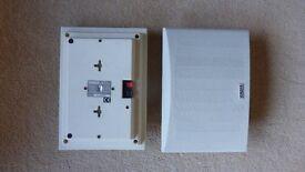2 x Yamaha NS-E105 surround speakers