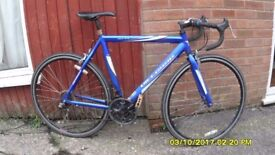 VITTESSE SPRINT 21sp RACING BIKE LARGE 23in/58cm ALLOY FRAME CLEAN BIKE RECENT SERVICE