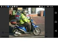 Piaggio Liberty 125 Blue X registered 2000 GIANNELLI FREEDOM EXHAUST system