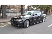 2003 BMW 3 Series 3.0 330Ci Sport, 2 Door, CONVERTIBLE, HPI CLEAR, 3 KEYS, 2 P/OWNER'S, BLACK