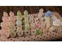 MAM anti colic bottles (lots) plus more