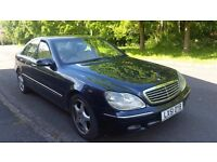 51 REG Mercedes-Benz S Class 3.2 S320 CDI WITH EXTRAS 97000 MILES