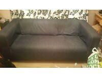 Ikea Klippan Blue Denim Sofa