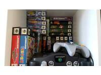 Wanted - Nintendo 64 Games