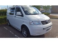 VW T5 CAMPERVAN 2009 MOT AUG 2017 71K MILES