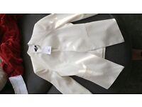 Top shop cream jacket