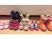 Toddler shoe bundle. Size 2 to 4.5.