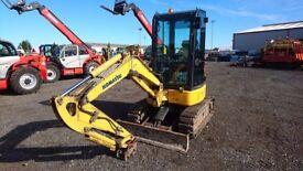 2012 Komatsu PC26MR-3 mini excavator - £18,750 + VAT