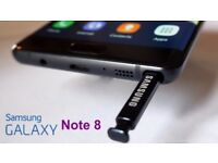 SAMSUNG NOTE 8 BOXED - Vodafone - Mint Condition - Boxed