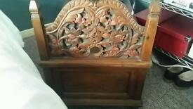 Indonesian wedding chest