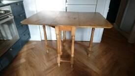 Oak Gate Leg Table Vintage